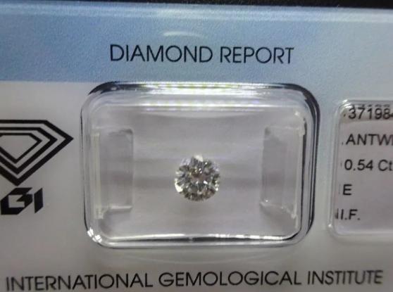 Annonce occasion, vente ou achat 'Diamant de 0.54 carat'