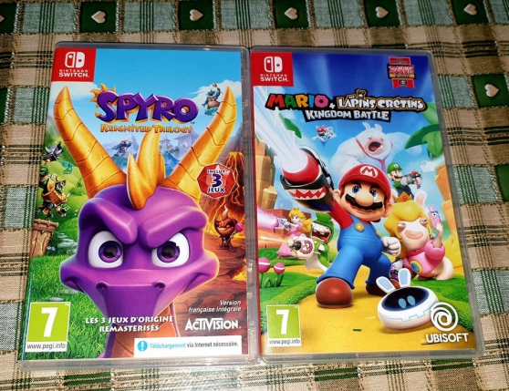 Annonce occasion, vente ou achat 'Jeux Switch .'