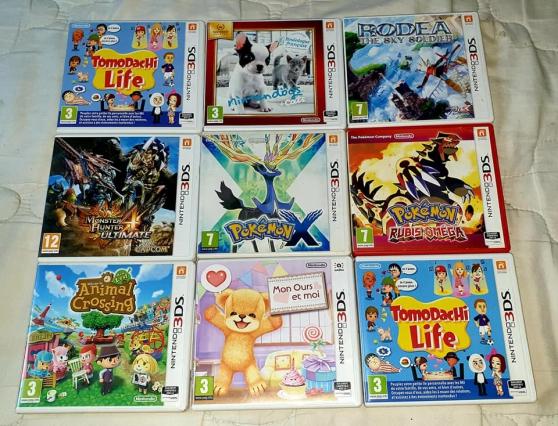 Jeux Nintendo 3ds .