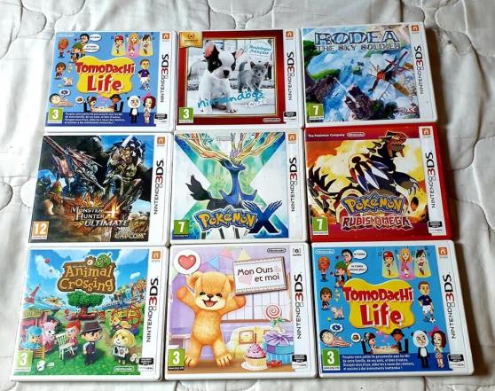 Jeux Nintendo 3ds . - Photo 2