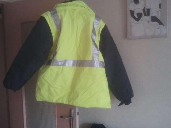 veste de travail extérieur fluo sécurit