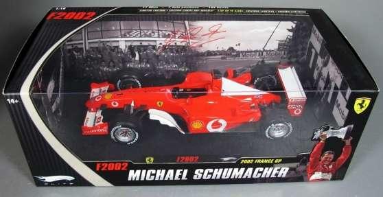 F1 1/18 Ferrari F2002 M.Schumacher 2002
