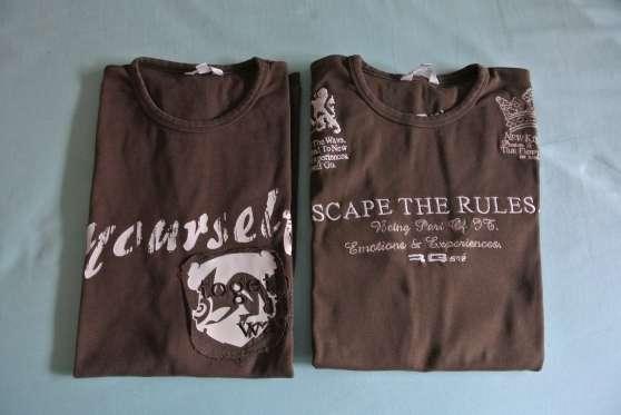 Lot de 3 t-shirt