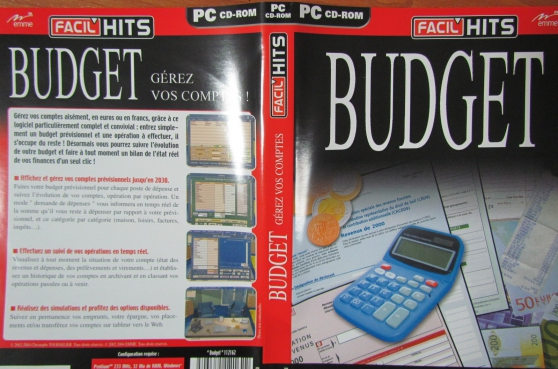 Annonce occasion, vente ou achat 'cd-rom BUDGET'