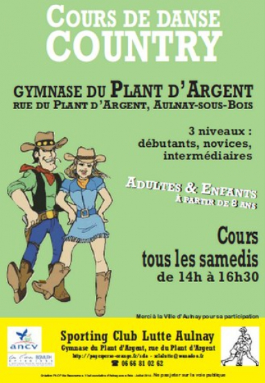 Annonce occasion, vente ou achat 'Country danse'
