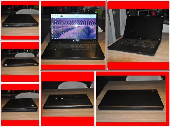 Petite Annonce : Hp g72-b58sf de 17,3 pouces - Vend Pc portable HP G72-B58SF de 17,3 pouces avec webcam et wifi
