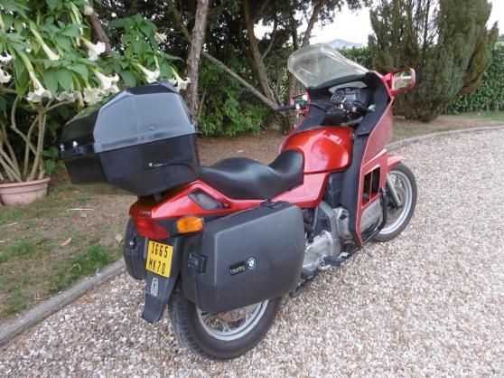 moto BMW K100 de 1986