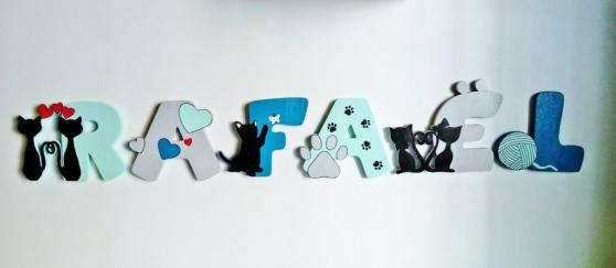Annonce occasion, vente ou achat 'Lettre décorative silhouette chat'