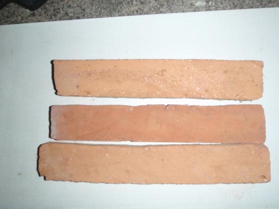 Plaquette de parement en terre cuite