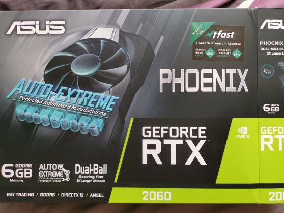 Annonce occasion, vente ou achat 'Carte graphique Asus Geforce RTX 2060'