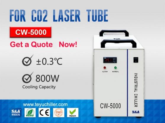 Annonce occasion, vente ou achat 'Petite unité de refroidisseur CW-5000'