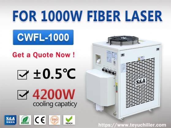 Refroidisseur d'eau pour laser à fibre