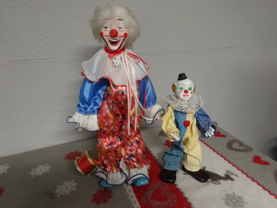 CLOWNS SYMPA DE COLLECTION