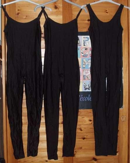 Annonce occasion, vente ou achat 'Justaucorps femme noir'
