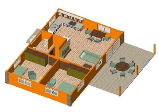 Kits maisons en dur type f3 et f4 mat riaux de construction mat riaux de con - Type de materiaux de construction ...