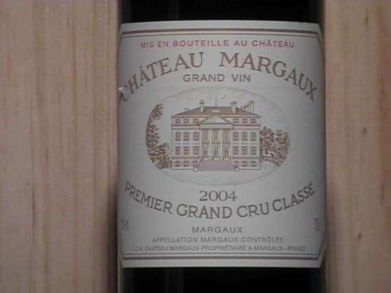 Coffret de vins Château Margaux 1ER gran