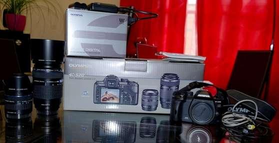 Olympus E520 + 2 Objectif Zuiko Digital