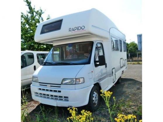 don Rapido 860 peugeot 2.5l jtd 6 places