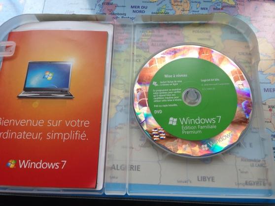 Annonce occasion, vente ou achat 'Windows 7 (en 64 bits ou en 32 bits)'