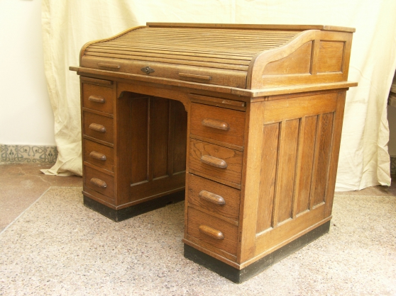 beau bureau am ricain ch ne fin 19 me montpellier antiquit art brocantes meubles anciens. Black Bedroom Furniture Sets. Home Design Ideas