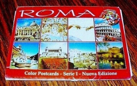 LOT DE 20 CARTES POSTALES ROME( Vatican