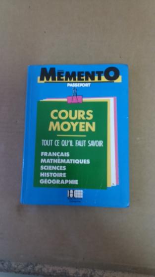 Annonce occasion, vente ou achat 'Mémento - Passeport - Cours Moyen'