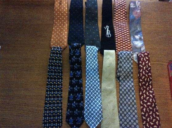 lot de 12 cravates