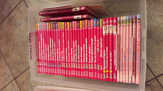 Bibliotheque Rose Totally Spies Winx Marche Fr