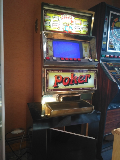 machine poker - Annonce gratuite marche.fr