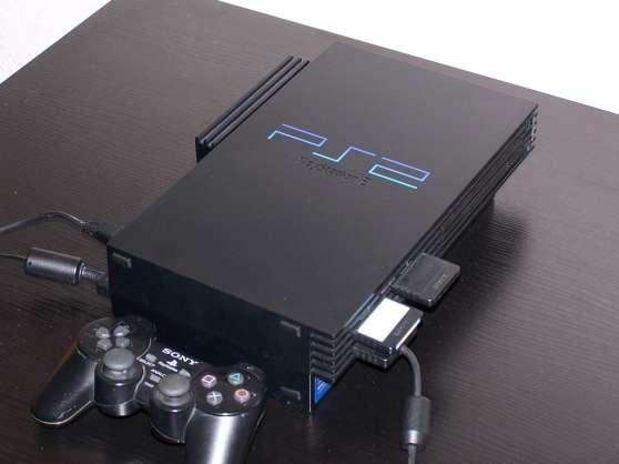 Vends Console Sony Playstation 2 + Jeux
