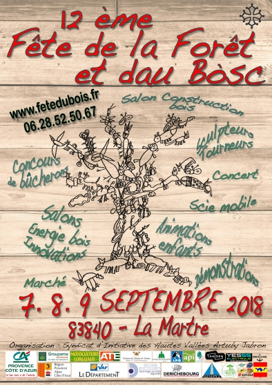 Annonce occasion, vente ou achat '12e Fete de la Foret et dau Bosc'