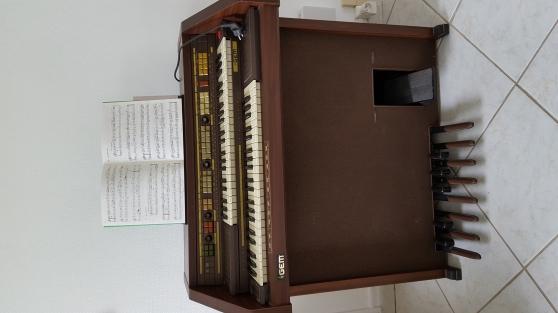 orgue gem boîte à rythme double clavier - Annonce gratuite marche.fr