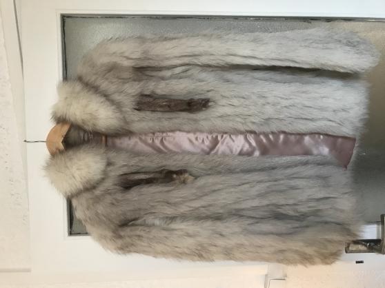 Vend manteau en fourrure