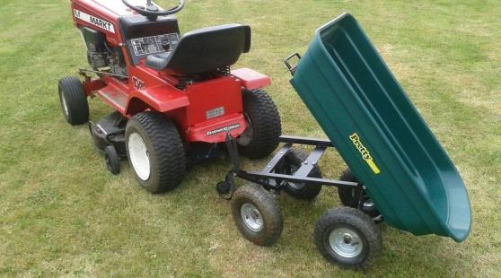 Annonce occasion, vente ou achat 'Tracteur tondeuse 350'