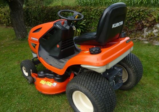 Annonce occasion, vente ou achat 'Tracteur tondeuse KUBOTA'