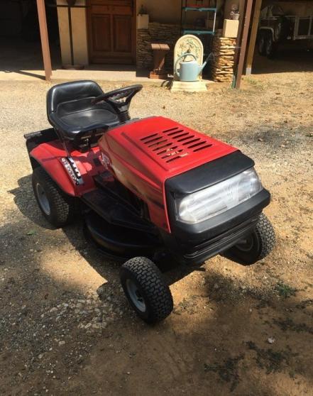 Annonce occasion, vente ou achat 'Tracteur tondeuse MTD 500'