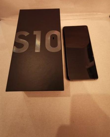Annonce occasion, vente ou achat 'Samsung Galaxy S10 noir prisme (4Gplus'