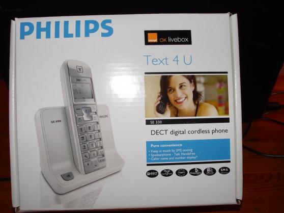 Philips SE 330 - 2 téléphones sans fil
