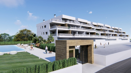 Appartements avec grande terrasse et vue