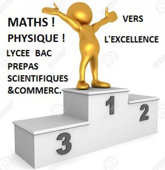 Annonce occasion, vente ou achat 'Cours particuliers Maths Physique'