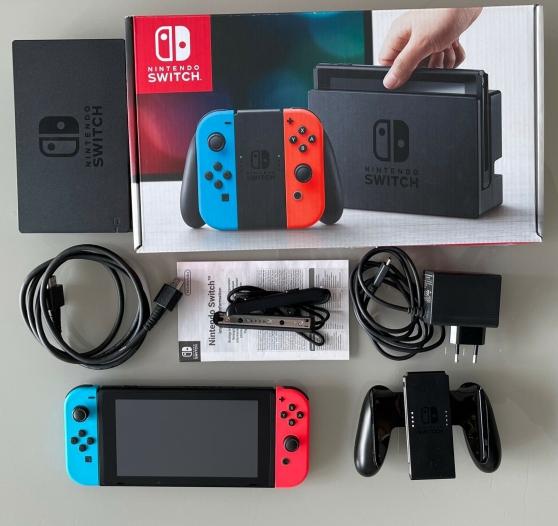 Nintendo Switch avec accessores
