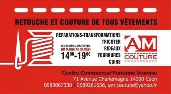 Annonce occasion, vente ou achat 'AM Couture ( Couture sur mesure et retou'