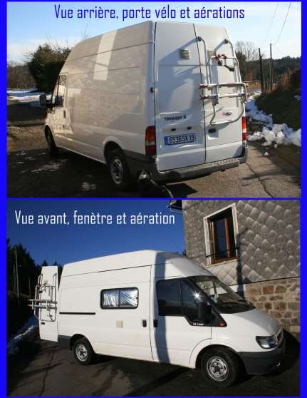 camion am nag ford transit camping car auto ford. Black Bedroom Furniture Sets. Home Design Ideas