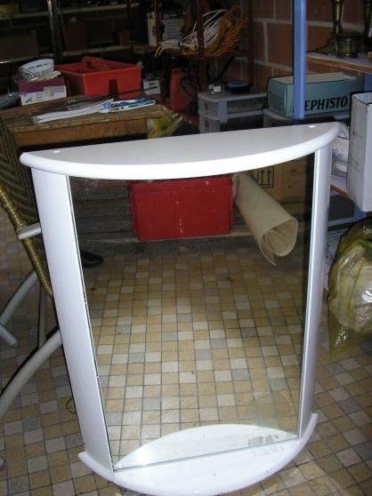 armoire de toilette avec miroir hazebrouck meubles d coration armoires murales t l. Black Bedroom Furniture Sets. Home Design Ideas