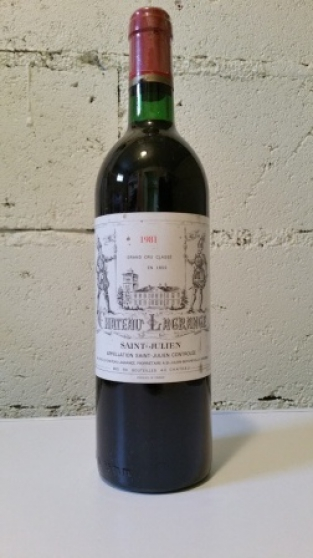 Chateau Lagrange St Julien 1981