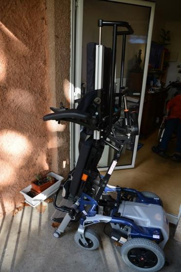 fauteuil roulant electrique VERTICALISAT