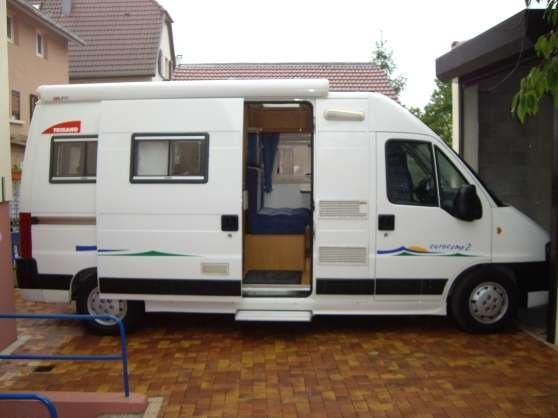 camping car trigano fourgon eurocamp 2 caravanes camping car divers caravanes camping car. Black Bedroom Furniture Sets. Home Design Ideas