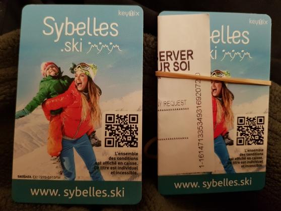Annonce occasion, vente ou achat 'forfaits les Sybelles'