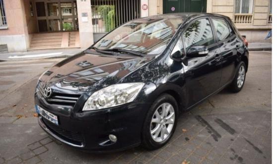 Annonce occasion, vente ou achat 'Toyota Auris 100 VVT-i Active 5P'