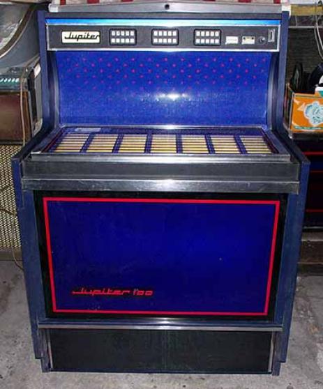 Jukebox Jupiter 100K 1971 juke